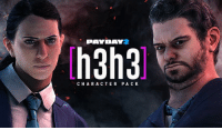 Dank, Work, and Game: PAYDAY  h3h3  CHA R ACTER PA C H3H3 DLC OUT NOW IN PAYDAY 2!!!  Me and Hila worked super hard making this, countless hours of voice over work and collaborating to the Payday 2 team, flying to Sweden, after months of working and waiting, its finally out! We're super excited and proud! Hope you enjoy it!  http://store.steampowered.com/app/758420/PAYDAY_2_h3h3_Character_Pack/  (If you don't have the base game, it's supposed to be 50% off right now, valve is working to fix it ASAP)