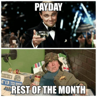 payday: PAYDAY  LELA!  REST OF THE MONTH