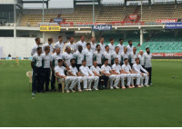 England squad and staff members pose for a group picture ahead of the 2nd Test.: Paytm  BSNL BSNL  r Kajaria  T Dalmia Cent England squad and staff members pose for a group picture ahead of the 2nd Test.