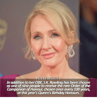 ϟ ⠀⠀⠀⠀⠀⠀⠀⠀⠀⠀⠀⠀⠀ — Thank you again for 46k! Also how exciting for Joanne! 💓 [SnitchSeeker.com] ⠀⠀⠀⠀⠀⠀⠀⠀⠀⠀⠀⠀⠀ — Q: Dream goal? harrypotter jkrowling: PCT TeRFaCTS  In addition to her OBE JK Rowling has been chosen  as one of nine people to receive the rare Orderofthe  Companion of Honour chosen once every 100 years.  at this year's Queen's BirhdayHonours. ϟ ⠀⠀⠀⠀⠀⠀⠀⠀⠀⠀⠀⠀⠀ — Thank you again for 46k! Also how exciting for Joanne! 💓 [SnitchSeeker.com] ⠀⠀⠀⠀⠀⠀⠀⠀⠀⠀⠀⠀⠀ — Q: Dream goal? harrypotter jkrowling