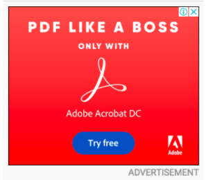 Poorly write ads, LIKE A BOSS!1!1!: PDF LIKE A BOSS  ONLY WITH  Adobe Acrobat DC  Try free  Adobe  ADVERTISEMENT Poorly write ads, LIKE A BOSS!1!1!