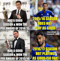 Memes, 🤖, and Play: +PE  ar  YOKOHAMA  HAD A GOOD  201516 SEASON  SEASON &WON THE  DOES NOT  PRA AWARD OF 2014H5 PLAY ASGOOD  FORTY-TH RD 3  FORTY-TH RD  @Soccer club  @Instatroll futbol  FOR  FORT  FORTY  RD S  H FOR  FORTY-TH  HAD A GOOD  201611 SEASON  SEASON & WON FOR  NOT PLAYIN  THE  PFA AWARD OF 2015/16 AS GOODOSO FAR] 😶