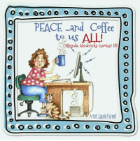 peace and coffee to us all o a hendricks quotes tb artist laurie