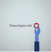 Dank, Love, and Happy: Peace begins with Happy International Day of Peace! Let's all celebrate by coming together and giving a little more love, today.