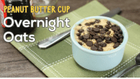 Peanut butter cup overnight oats are a #delicious snack with a twist!: PEANUT BUTTER CUP  overnight  Oats Peanut butter cup overnight oats are a #delicious snack with a twist!