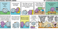 Love, Memes, and School: PEARLS BEFORE SWINE  BY STEPHAN PASTIS  So Henry Hippo went to  ry Hippo, I want you to  Hen  Elly Elephant  So she approached  And worked late into  school and learned  take a poetry class. And I  wanted one  her boyfriend,  the night on  the poetry of Keats and  want you to woo me in the  true  Henry Hippo.  his own.  Byron and Shelley.  anguage of Keats and Byron  romance.  and Shelley  Elly Elephant  IS THE PROPOSED YEAH.IT PROVES THE  And when it was done, and  ...Who. touched beyond  words, took the work Here are my wishes  stomped the  VALENTINES DAY  TRUE ROMANCE WORLDS  ambic pentameter  as close to the work of the  19th century masters as  gently into her hands  Please do the dishes.  could be, he presented it  and began to read.  GARD YOU'RE  IS NOT DEAD. LOST A  out of  SENDING TO  ONLY HENRY /GREAT  Henry Hippo.  to his love, Elly Elephant...  POET!  'HALLMARK?  HIPPO IS  STOMP  ST Mr