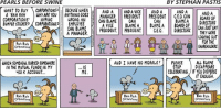 Hype, Memes, and Anything Goes: PEARLS BEFORE SWINE  BY STEPHAN PASTIS  WANT TO BUY  CORPORATIONS BECAUSE WHEN  g AND A  AND A VICE AND A  AND A  AND A  A RAH RAH WHY ARE YOU ANYTHING GOES  MANAGER  PRESIDENT  PRESIDENT  GE.0. CAN  BOARD OF  CORPORATIONS  HYPING  WRONG, AN  CAN BLAME  CAN  CAN  BLAME A  DIRECTORS  EUNPER STICKERS CORPORATIONS  EMPLOYEE  A VICE  BLAME A  BLAME A  BOARD OF  CAN JNST SAY  CAN BLAME  E PRESIDENT  PRESIDENT  CEO. DIRECTORS.  WERE  A MANAGER  THEY G LOOKING OUT  FOR THE  Rah Rah  SHAREHOLDERS  Corporations  AND I HAVE NO MORALS!  PLEASE  ALL BLAME  WHICH SOMEHOW BURIEDSOMEWHERE  DISAPPEARS  STOP  IN THE MUTUAL FUNDS IN MY  CELEBRATING. IF YOU DISPERSE  HOIK ACCOUNT..  ME  IT ENOUGH  Rah Rah  Rah Rah  Rah Rah  Corporations  Corporations  Corporations