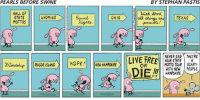 New Hampshire: PEARLS BEFORE SWINE  HALL OF  STATE  WYOMING  MOTTOS  RHODE ISLAND  HOPE!  OHIO  NEW HAMPSHIRE  BY STEPHAN PASTIS  With Bond  all  TEXAS  NEVER END THEYRE  LIVE FREE  YOUR STATE A  MOTTO TOUR SCARY  OR  WITH NEW PEOPLE  DIEM  HAMPSHIRE