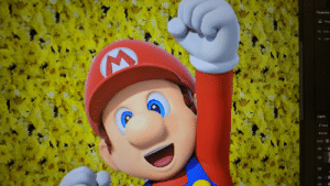 Fail, Teacher, and Tumblr: Pee  W: 6.92  X: 1.28  Layers  Normal  Lock: yiffmaster: pesky-plumbers:  deetsthedragon: i'm in graphic design class and found out how to remove mario's stache and eyebrows if i were your teacher i would fail you over this  it looks like your teacher already failed you