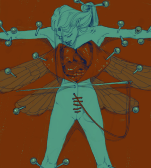 Tumblr, Blog, and Http: peiag: day 1 | pins and needles yea I know it's the second but I'm sick and slept through oct 1