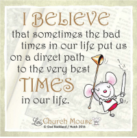 Memes, 🤖, and Bad Time: peloleve  that sometimes the bad  times in our life put us  on a direct path  to the very best  TIMES  in our life.  Church Hutch 2016  ittle Do you agree? ❤️
