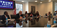 I had a great meeting with African-American and Latino leaders this morning at Trump Tower in NYC. I am grateful for their time, feedback, and support.: PENCE  MAKE AMERICA GREAT AGAIN I had a great meeting with African-American and Latino leaders this morning at Trump Tower in NYC. I am grateful for their time, feedback, and support.