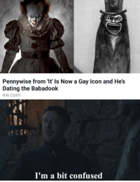 """<p>I&rsquo;m a bit confused via /r/MemeEconomy <a href=""""http://ift.tt/2y6oQVh"""">http://ift.tt/2y6oQVh</a></p>: Pennywise from 'It' ls Now a Gay Icon and He's  Dating the Babadook  ew.com  I'm a bit confused <p>I&rsquo;m a bit confused via /r/MemeEconomy <a href=""""http://ift.tt/2y6oQVh"""">http://ift.tt/2y6oQVh</a></p>"""