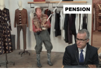 Sorry, You, and You Gotta: PENSION