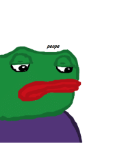 I was challenged to draw Pepe from memory. Plz give CC and rarity rating.: peope I was challenged to draw Pepe from memory. Plz give CC and rarity rating.