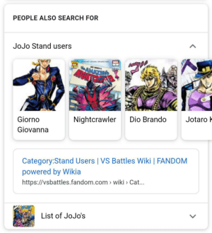 Who Would Win? Dio Brando With Dio's Face or Ronnie James