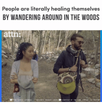 "Memes, youtube.com, and Business: People are literally healing themselves  BY WANDERING AROUND IN THE WOODS  attn:  DD ""THE SIMPLE JAPANESE. .. BUSINESS INSIDER (2018)COURTESY OF THE LORE COMPANY VIA YOUTUBE Forest therapy is literally healing people."