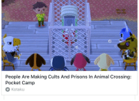Animal, Animal Crossing, and Camp: People Are Making Cults And Prisons In Animal Crossing:  Pocket Camp  Kotaku