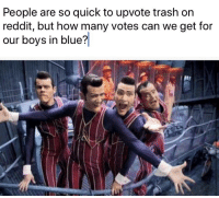 Memes, Reddit, and Trash: People are so quick to upvote trash on  reddit, but how many votes can we get for  our boys in blue? Gone but not forgotten via /r/memes https://ift.tt/2MFy5pn