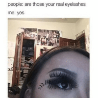 Click, Desperate, and How To: people: are those your real eyelashes  me: yes If you're in desperate need of a tutorial on how to contour and highlight, click the link in my bio.