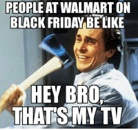 #TheHerd #Sheep   Ghost-: PEOPLE AT WALMART ON  BLACK FRIDAY BE LIKE  HEY BRO  THATS MY TV #TheHerd #Sheep   Ghost-