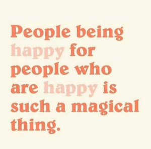 Memes, Breakfast, and Happy: People being  happy for  people who  are happy is  such a magical  thing Breakfast With Diamonds