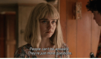More Questions: People can't be answers  They're just more questions
