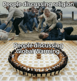 Guys please do something, if global warming continues the class of '69 wont exist: People discussing religion  People discussing  Global Warming Guys please do something, if global warming continues the class of '69 wont exist