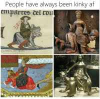 Af, Memes, and Classical Art: People have always been kinky af  CLASSICAL ART MEMES