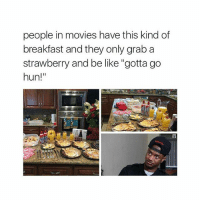 """Be Like, Chill, and Movies: people in movies have this kind df  breakfast and they only grab a  strawberry and be like """"gotta go  hun!""""  hun!"""" views is honestly one of Drake's best or the best album of Drake's like it's so chill and diverse"""