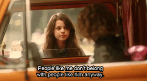 https://iglovequotes.net/: People like me dont belong  with people like him anyway https://iglovequotes.net/
