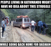पिडा छ हजुर पिडा !!  Photo via: NagarikNews: PEOPLE LIVING IN KATHMANDU MIGHT  HAVE NO IDEA ABOUT THIS STRUGGLE  WHILE GOING BACK HOME FOR DASHAIN पिडा छ हजुर पिडा !!  Photo via: NagarikNews