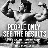 True that 😎😎 @aestheticelite: PEOPLE ONLY  SEE THE RESULTS  THEY DONT SEE THEENDLESS HOUR  PENT IN THE GYM WORKING, True that 😎😎 @aestheticelite