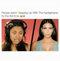 Goals, Kardashians, and Keeping Up With the Kardashians: People watch 'Keeping Up With The Kardashians  for the first time New episode of Keeping Up With The Kardashians tonight! follow me (@kardashiianrelate) for more ⛅️ - - - - kyliejenner kimkardashian khloekardashian kourtneykardashian kendalljenner kim khloe kourtney kylie kim kendall krisjenner kuwtk likesreturned khlomoney kimk kimye kris instamood instagood followbackalways west disick kardashian jenner kardashians jenners kingkylie northwest saintwest goals -