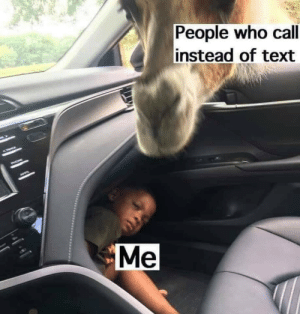 meirl: People who call  instead of text  Me meirl