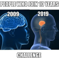Club, Tumblr, and Blog: PEOPLE WHO JOIN 10 YEARS  2009  2019  CHALLENGE laughoutloud-club:  Stop This Madness