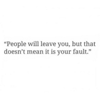 "Mean, Will, and You: ""People will leave you, but that  doesn't mean it is your fault.""  05"