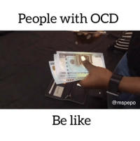 Who else is like this? 😂😂 Tag your friends that have OCD ⬇️⬇️ Credit: @mspepo . KraksTV: People with OCD  @mspepo  Be like Who else is like this? 😂😂 Tag your friends that have OCD ⬇️⬇️ Credit: @mspepo . KraksTV