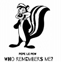 Memes, Cartoon, and Cartoons: PEPE LE PEW  WHO REMEMBERS ME? #Rememberthis cartoon character?  ms