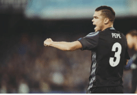 Memes, Time, and Pepe: PEPE Official: Real Madrid's number 3 shirt (formerly Pepe's) is available for selection for the first time in 10 years (2007).   -jr31