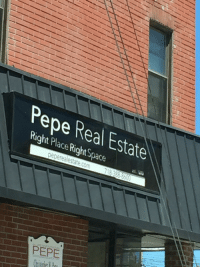 Found the rarest of all real estate offices today: Pepe Real Estate  Right Place Right Space  es.  pepe realestate.com  PEPE Found the rarest of all real estate offices today