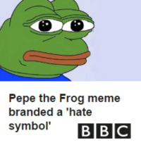 "I've been dope, suspenseful with a pencil ever since Pepe turned himself into a hate symbol: Pepe the Frog meme  branded a ""hate  symbol'  BBC I've been dope, suspenseful with a pencil ever since Pepe turned himself into a hate symbol"