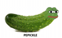 PEPICKLE Pepe the pickle