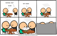 "http://t.co/ZdK6OeLdmu: PEPPER, SIR?  SURE!  SAY WHEN  SCRUNCH  CRUNCH  Cyanide and Happiness Explosm.net  SCRUNCH  ""S http://t.co/ZdK6OeLdmu"