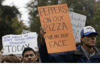 """<p>(<a href=""""http://www.buzzfeed.com/mjs538/the-40-best-protest-signs-of-2011"""" target=""""_blank"""">via</a>)</p>: PEPPERS  ON OUr  ucotion  e a  OT PEPPE Pot on our  TOD  HOW ABOUT WE  STUDENTS  FACE <p>(<a href=""""http://www.buzzfeed.com/mjs538/the-40-best-protest-signs-of-2011"""" target=""""_blank"""">via</a>)</p>"""