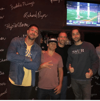 Memes, Wild, and 🤖: per  SSUR These guys had me rolling last night! @brendanschaub @bryancallen @joerogan @chrisdelia pretty wild that Chris and I met nearly 10 years ago when we were both just getting started.