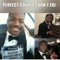 Memes, 🤖, and Gamecube: PERFECT COUPLES DON'T EXI-  GAMECUBE.  SMASEI BRAS Think again