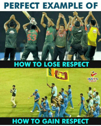 Respect, How To, and Indianpeoplefacebook: PERFECT EXAMPLE OF  53  HOW TO LOSE RESPECT  LAUGHING  Colours  HOW TO GAIN RESPECT #Respect #NidahasTrophy
