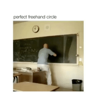 Impressive, Perfect, and Circle: perfect freehand circle That's impressive