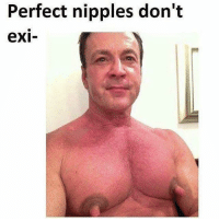 Perfect nipples don't  exi- @mymoistmemes makes me moist